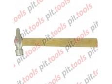 Молоток слесарный, 400 г, круглый боек, деревянная рукоятка (Россия)