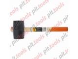 Киянка резиновая, 680 г, черная резина, деревянная рукоятка (SPARTA)
