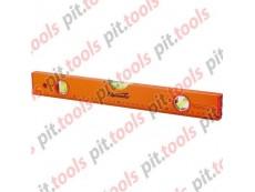 Уровень алюминиевый, 1000 мм, 3 глазка, желтый, линейка (SPARTA)