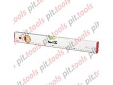 Уровень алюминиевый, 1000 мм, 2 глазка, линейка (SPARTA)