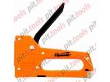 Степлер мебельный пластиковый, со скобами 100 шт, тип скобы 53, 4-8 мм (Sparta)