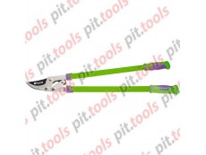 Сучкорез, 750 мм, прямой рез, рычажный механизм, двухкомпонентные рукоятки (PALISAD)