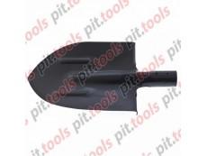 Лопата штыковая с ребрами жесткости закаленная, упрочненная сталь Ст5, без черенка Россия (СИБРТЕХ)