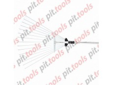 Грабли веерные 15-зубые, метал. черенок 1130 мм, раздвижные (PALISAD)