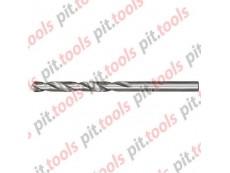 Сверло по металлу, 4,8 мм, полированное, HSS, 10 шт. цилиндрический хвостовик (MATRIX)