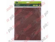 Шлифлист на бумажной основе, P 80,230 х 280 мм, 10 шт., водостойкий (MATRIX)