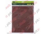 Шлифлист на бумажной основе, P 80,230 х 280 мм, 10 шт., влагостойкий (СИБРТЕХ)