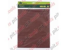 Шлифлист на бумажной основе, P 120, 230 х 280 мм, 10 шт., влагостойкий (СИБРТЕХ)