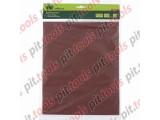 Шлифлист на бумажной основе, P 180, 230 х 280 мм, 10 шт., влагостойкий (СИБРТЕХ)
