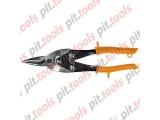Ножницы по металлу, 250 мм, пряморежущие, обрезиненные рукоятки (SPARTA)