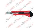 Нож, 18 мм, выдвижное лезвие, металлическая направляющая (MATRIX)