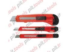Набор ножей, выдвижные лезвия, 9-9-18 мм, 3 шт. (MATRIX)