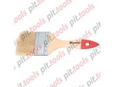 """Кисть плоская """"Стандарт"""" 2,5"""" (63 мм), натуральная щетина, деревянная ручка (MTX)"""