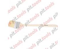 """Кисть радиаторная 2,5"""", натуральная щетина, деревянная ручка (MTX)"""