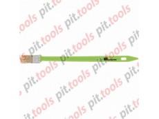Кисть радиаторная 25 мм, натуральная щетина, пластиковая ручка (СИБРТЕХ)