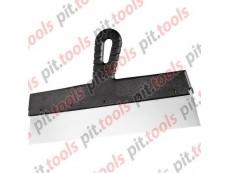 Шпатель фасадный из нержавеющей стали, 350 мм, пластмассовая ручка (СИБРТЕХ)