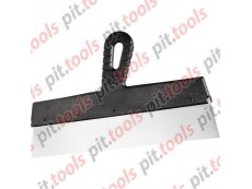 Шпатель фасадный из нержавеющей стали, 600 мм, пластмассовая ручка (СИБРТЕХ)