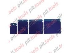 Набор шпателей японских пластмассовых, 50-75-100-120 мм, 4 шт. (SPARTA)