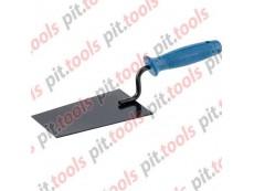 Кельма отделочника, стальная, пластиковая ручка Россия (СИБРТЕХ)
