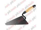 Кельма бетонщика стальная, деревянная усиленная ручка (Россия)