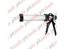 """Пистолет для герметика, 400 мл, """"закрытый"""", алюминиевый корпус, круглый шток 8 мм (SPARTA)"""