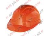 Каска защитная из ударопрочной пластмассы, оранжевая Россия (СИБРТЕХ)