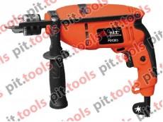 Ударная дрель PIT - P31303, 800 Вт, 0-2500 об/мин
