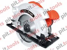 Дисковая пила с лазером PIT - P71854, 185 мм, 1400 Вт