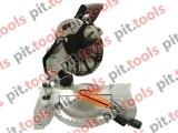 Торцовочная пила PIT - PCM255-C, 255 мм, 2000 Вт