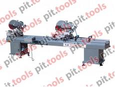 Отрезной станок для изготовления металлопластиковых дверей и окон LJB2-355x3500