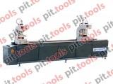 Двухголовочный сварочный станок для изготовления дверей и окон из ПВХ SHZ2G-120x3500